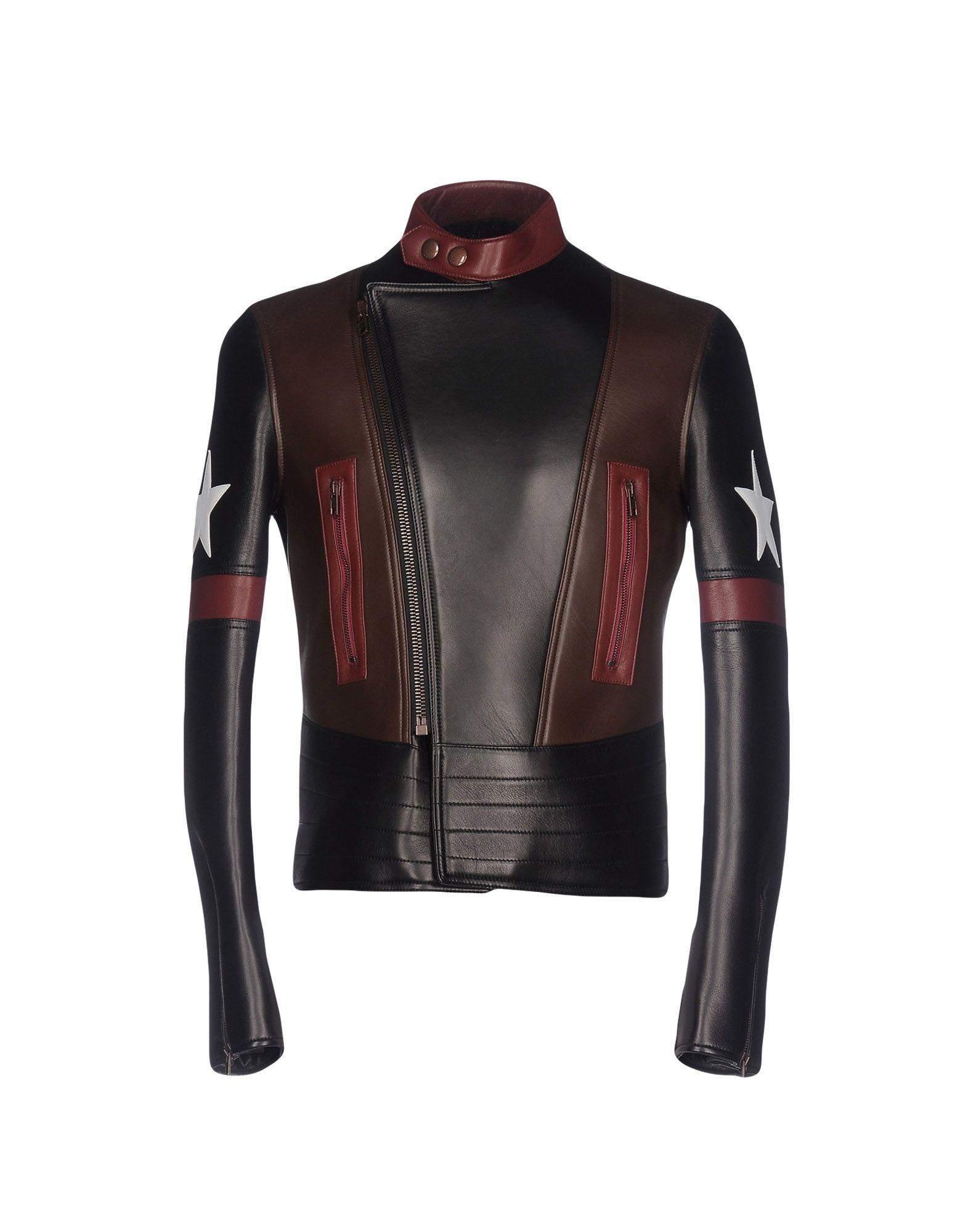 GIVENCHY Herren Jacke Farbe Schwarz Größe 4