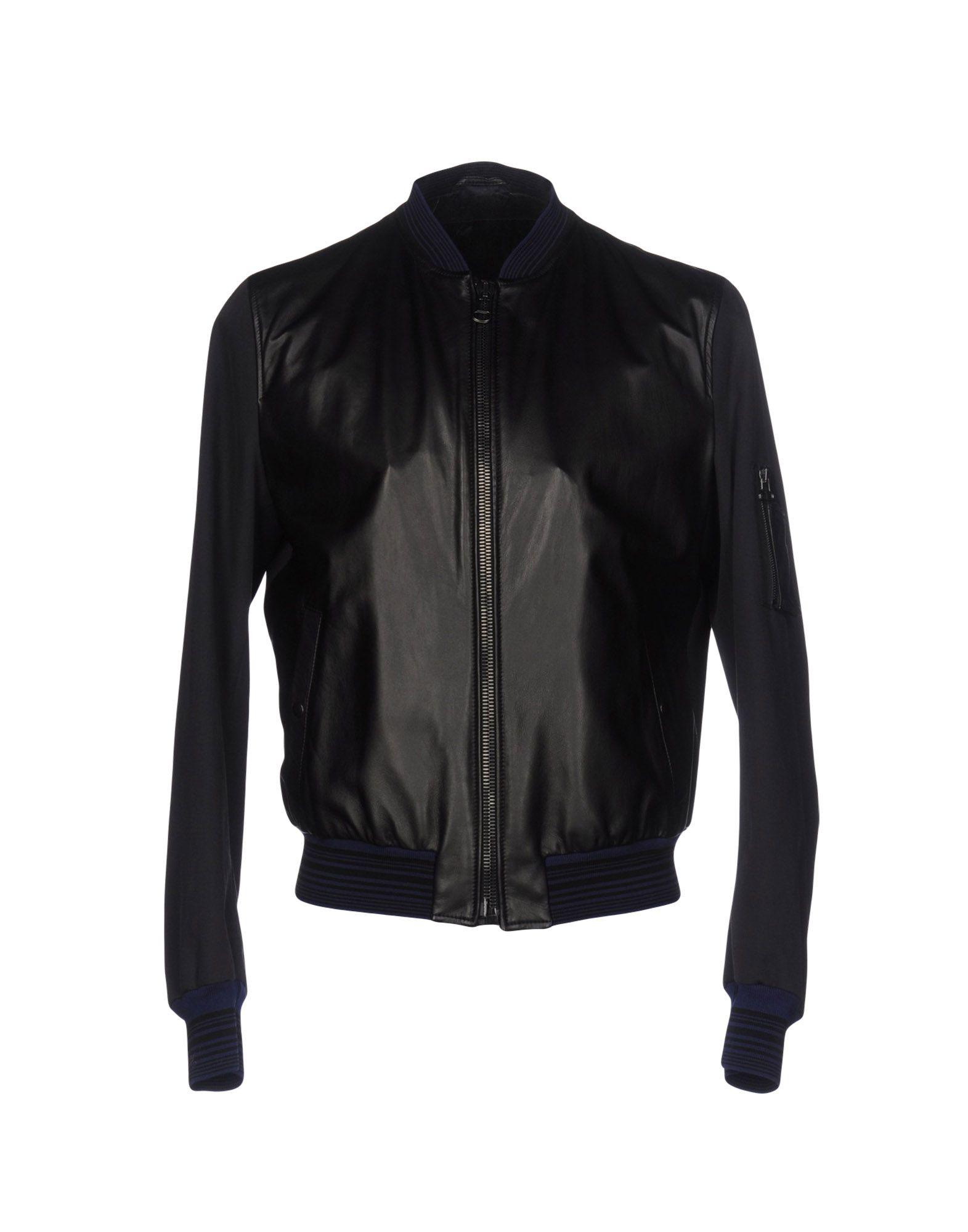 LANVIN Herren Jacke Farbe Schwarz Größe 4