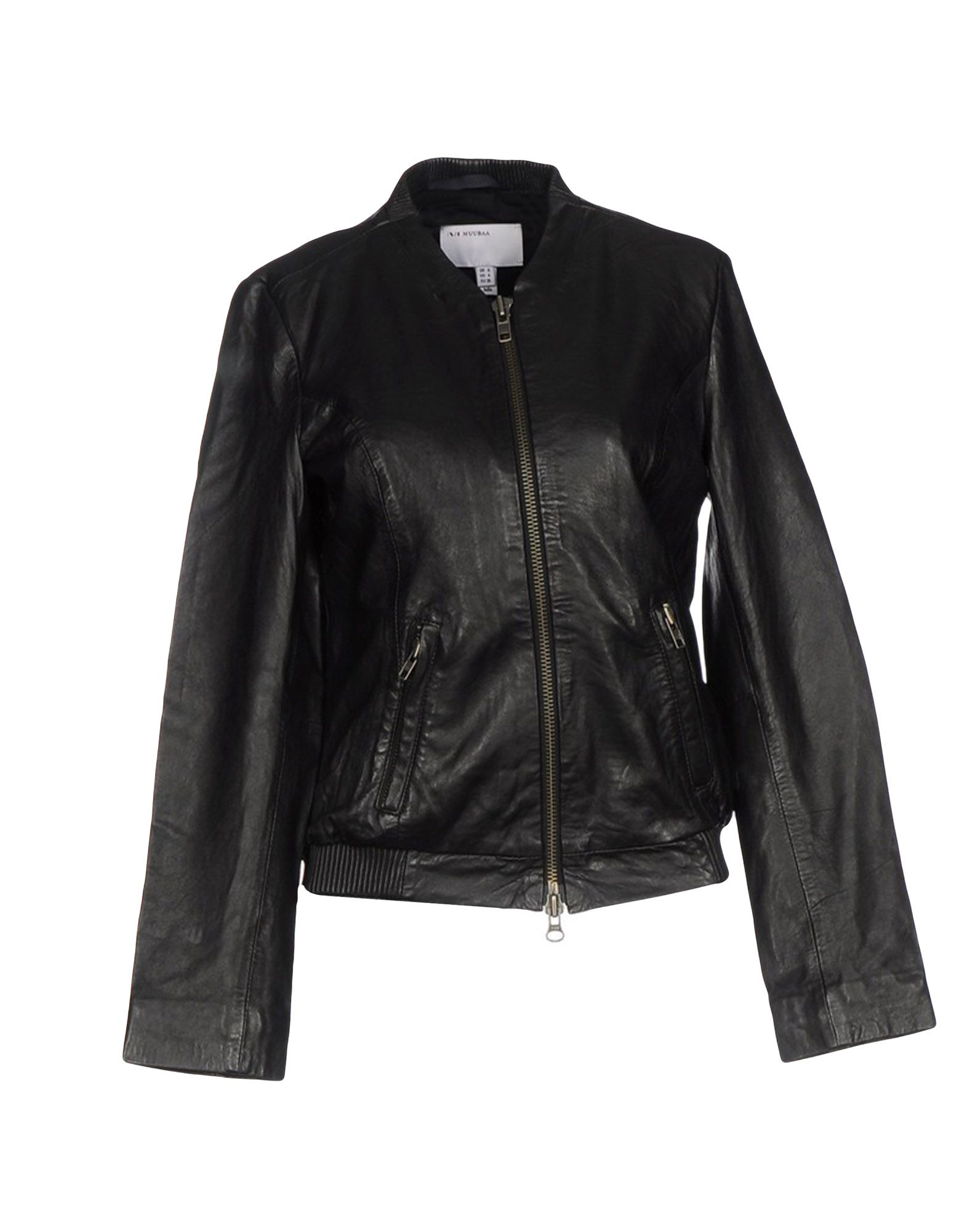 MUUBAA Damen Jacke Farbe Schwarz Größe 3