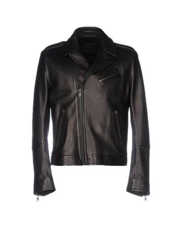 PRADA Herren Jacke Farbe Schwarz Größe 3