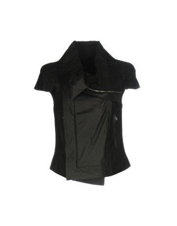 RICK OWENS Damen Jacke Farbe Schwarz Größe 5