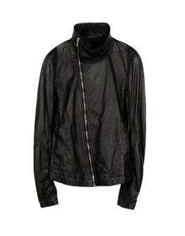 RICK OWENS Herren Jacke Farbe Schwarz Größe 2
