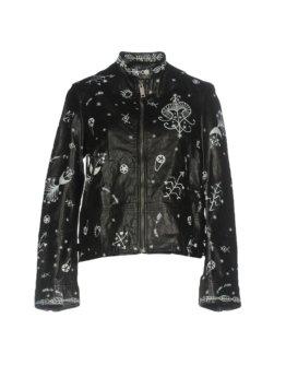 VALENTINO Damen Jacke Farbe Schwarz Größe 2